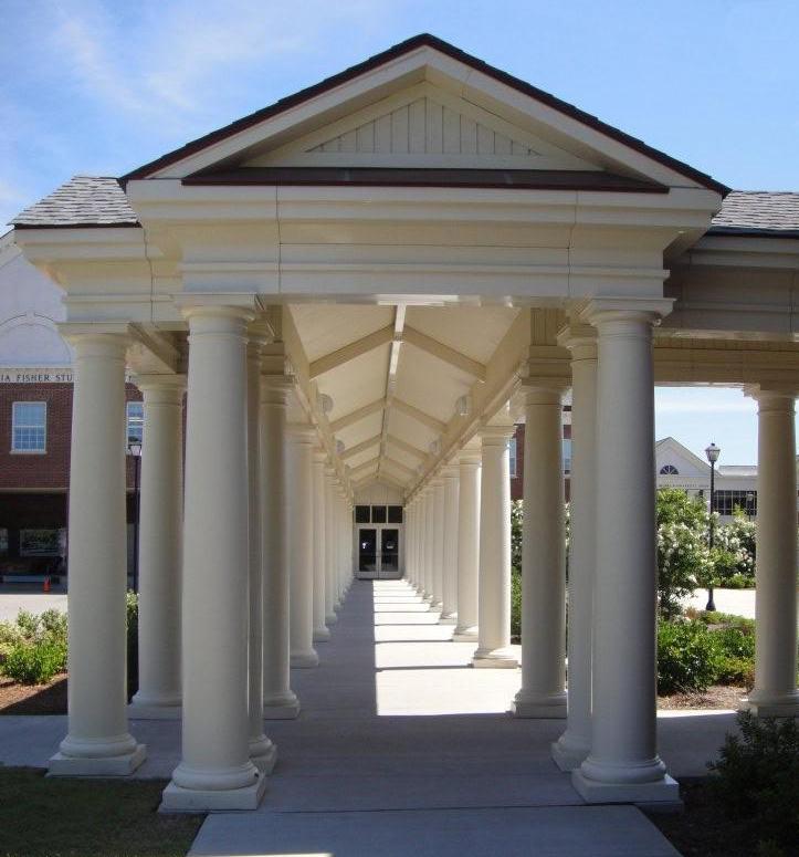 UNCW Columns - 21