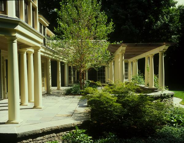 Exterior Residential Columns : Avon connecticut chadsworth s lumns