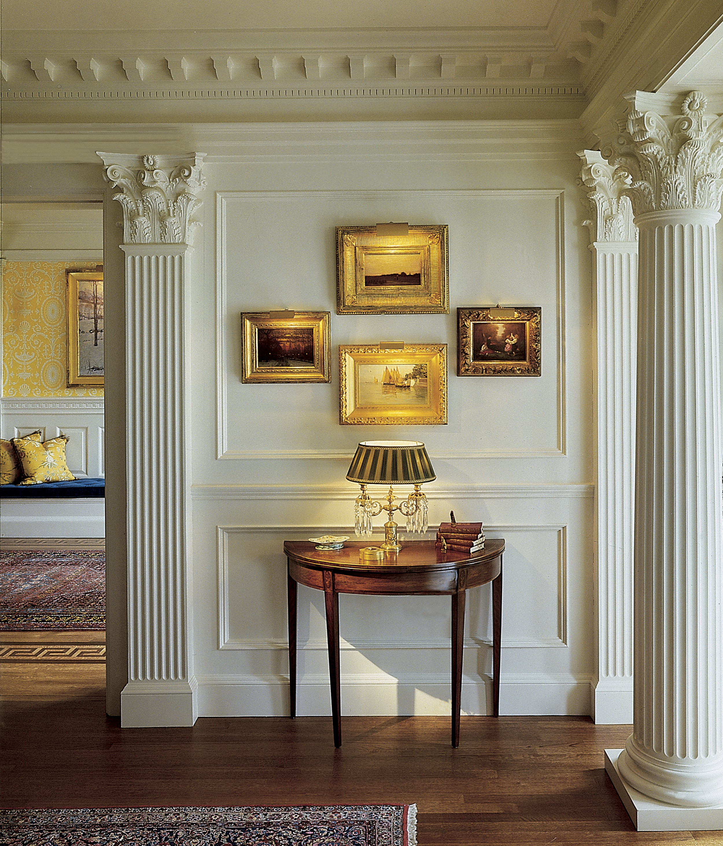 Modern Home Architecture Interior Designs With Columns: Chadsworth's 1.800.COLUMNS