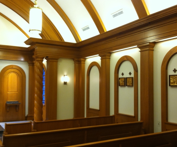 PHOTOGRAPHY COURTESY OF:  CHRIS MCCAFFREY, INTERIOR, CHURCHES