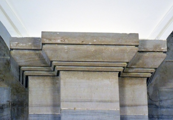 Figure 10. Greek moldings, Tennessee State Capitol, Nashville (Loth).