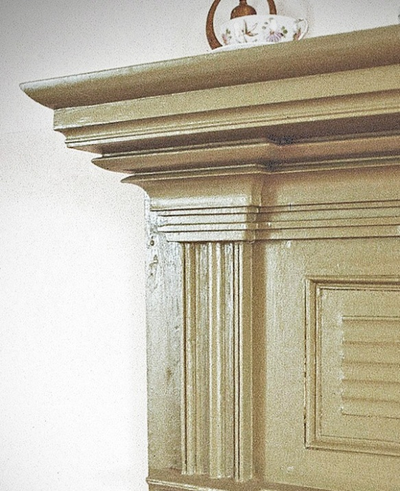 Figure 14. Mantel detail, Annandale, Buckingham County, Virginia (Virginia Department of Historic Resources).