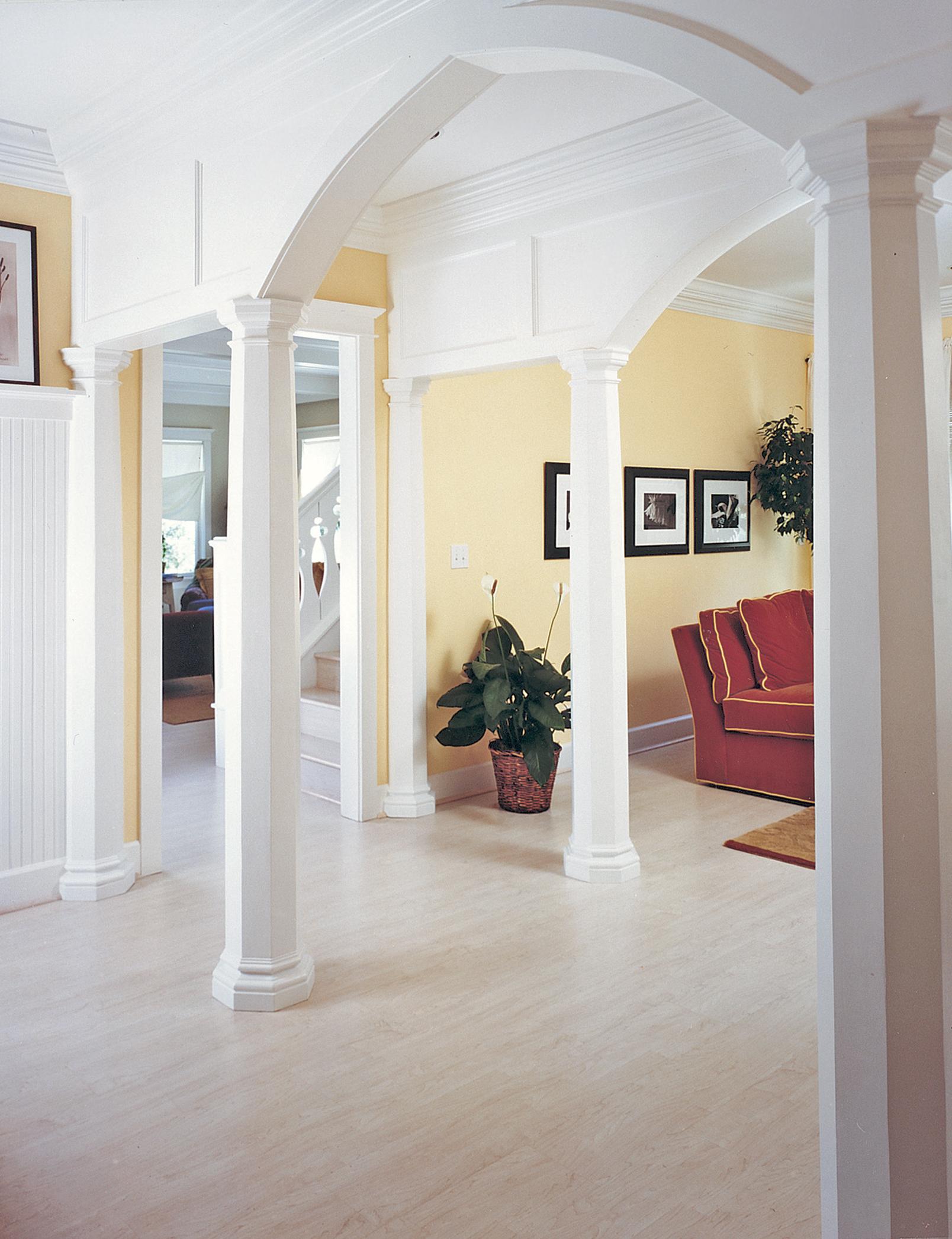 Exterior Residential Columns : Octagonal wood columns chadsworth s lumns