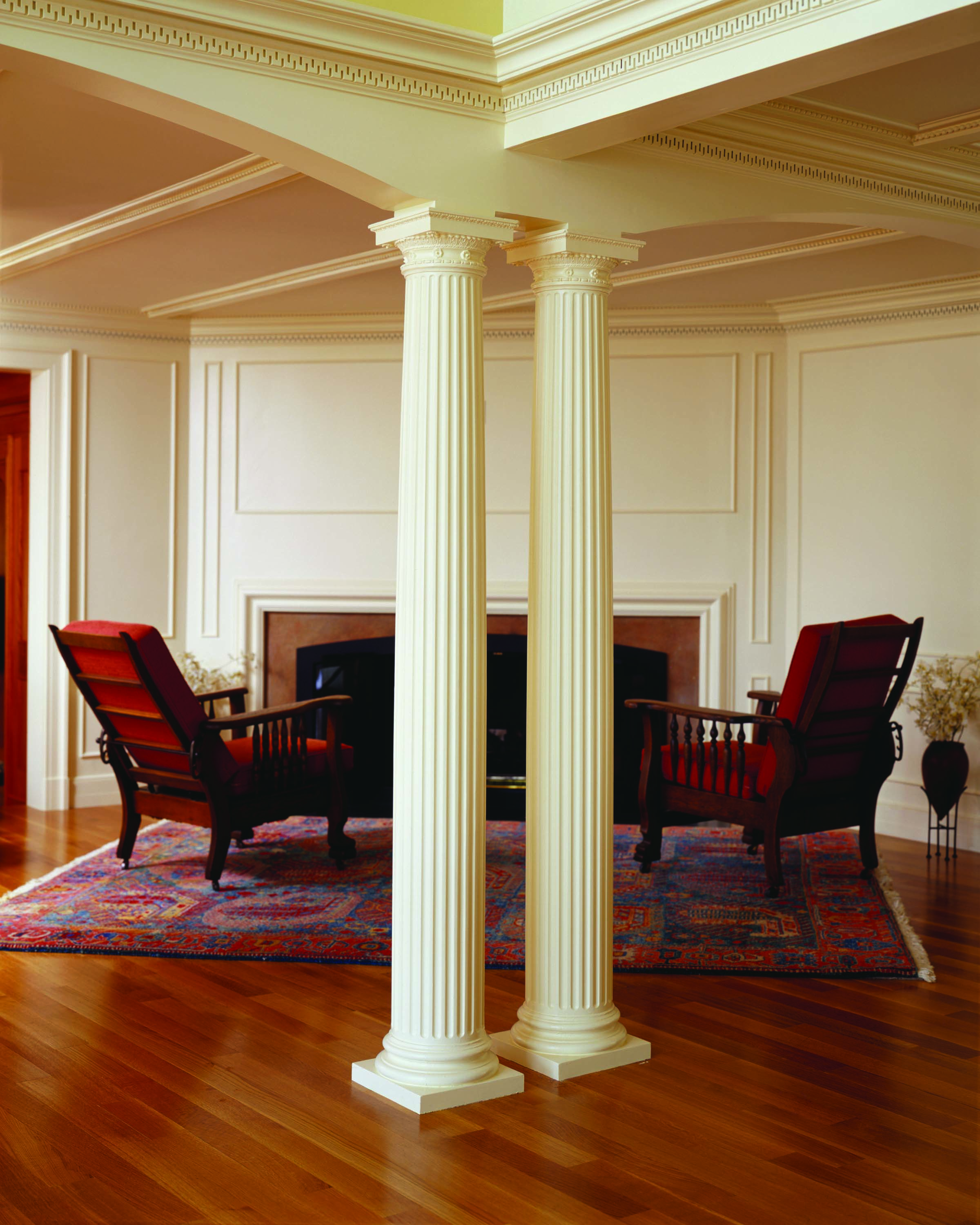 Manchester massachusetts chadsworth 39 s Interior columns design ideas