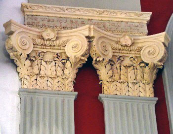 Altarpiece capitals, St. James' Church | Goose Creek, South Carolina