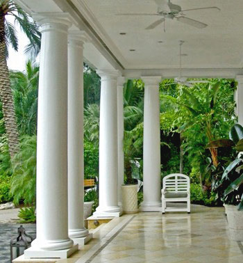 Exterior Tuscan Wood Columns by Chadsworth Columns