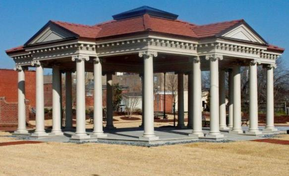 Completed Memorial Using Chadsworth's Columns
