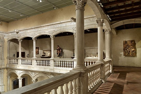 Patio from the Castle of Vélez Blanco, 1506–15. Photo: Courtesy of the Metropolitan Museum of Art